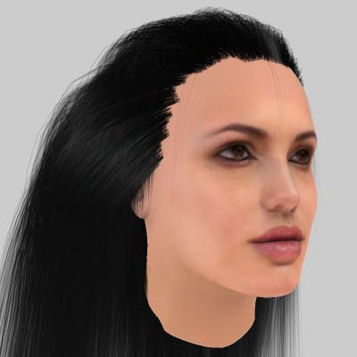 3ds max realistic angelina