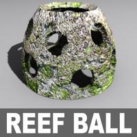 3d reef ball model