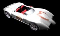 3d speed racer