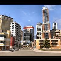 x high-definition city definition