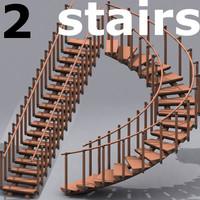 2 stairs max