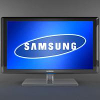 3d samsung le-46n87 lcd tv