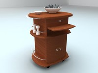 3d model kitchen table