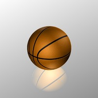 basketball ball 3d 3ds