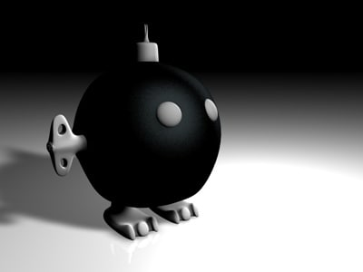 free bob-omb super mario 3d model - Bob-omb... by Ya cov