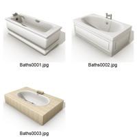 3d model baths