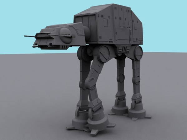 atat starwars 3d model - ATAT... by A_K