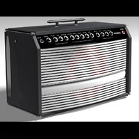 guitar amp delux 3d 3ds