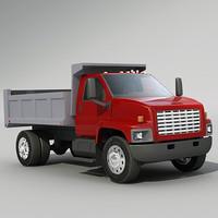 3d dump truck