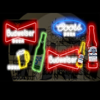 Neon Beer Sign Collection 01