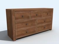 cabinet bureau 3d 3ds