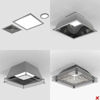 3ds max lamp ceiling