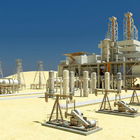 Desert Oil Instalations