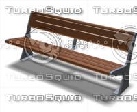 3d model of bench