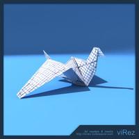 paper origami bird max