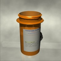 3d prescription pill bottle
