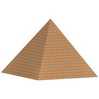 free pyramid 3d model