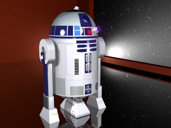 star wars r2d2 max - R2D2... by Bluerage