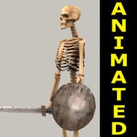 Skeleton 3dsMax7