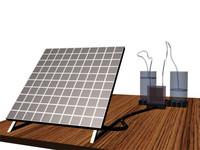 3d solar electrolizer