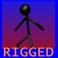 rigged stickman