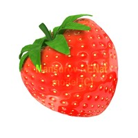 3d 3ds strawberry berry