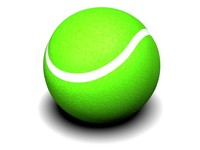 3d tennis ball tennisball model