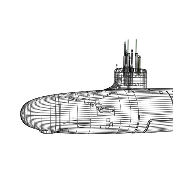 3dsmax uss virginia attack submarine - US Navy SSN-774 USS Virginia Attack Submarine... by Camelot Inc