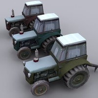 3d tractor vehicle