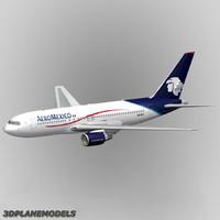 B767-200 AeroMexico