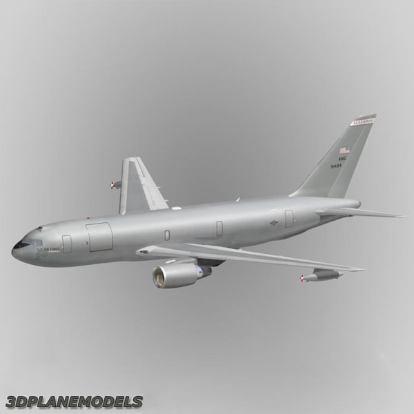 3d kc-767 tanker transport aircraft model - KC-767 Tanker Transport Aircraft USAF... by 3Dplanemodels
