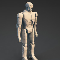 3d android sp model