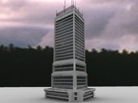 3d 3ds building skyscraper