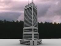 3d 3ds building skyscraper
