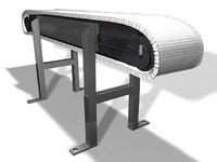 drum drive conveyor c4d