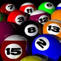 pool balls 3d lwo