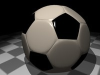 -high soccer ball 3d model