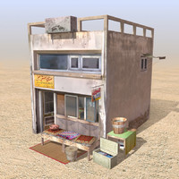 3ds arab store shops houses