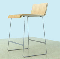 island kitchen chair stool 3d max
