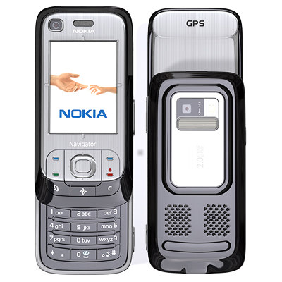 3d model nokia 6110 cell phone - Nokia 6110... by Pekdemir