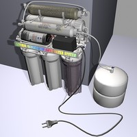 3d model aqua filter