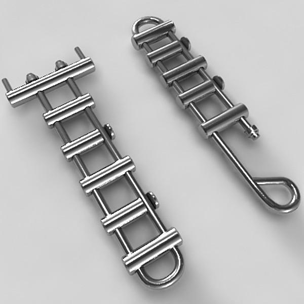 Rack descenders