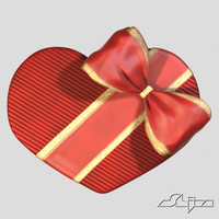 Heart Shaped Gift Box with Chocolate