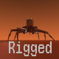 robot legs 3d model