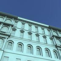 fasades 3d max