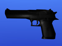 desert eagle pistol 3d 3ds