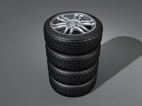tyre alloy 3ds