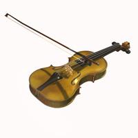 3ds max violin viol