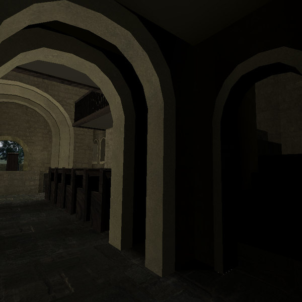 3ds max deathmatch church - game dm church... by k garrow