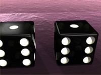 3ds max pair dice